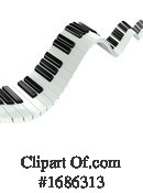 Piano Clipart #1686313 by Steve Young