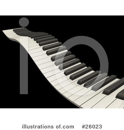 Piano Clipart #26023 by KJ Pargeter