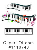 Piano Keyboard Clipart #1118740