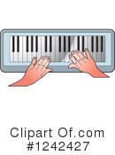 Piano Keyboard Clipart #1242427