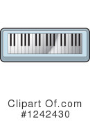 Piano Keyboard Clipart #1242430