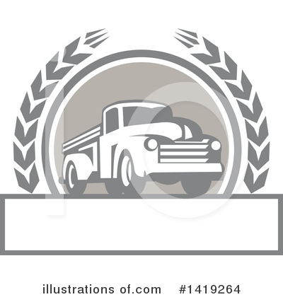 Royalty-Free (RF) Pickup Clipart Illustration by patrimonio - Stock Sample #1419264