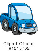 Pickup Truck Clipart #1216762 by Cory Thoman