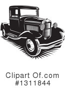Pickup Truck Clipart #1311844 by David Rey