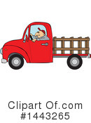 Pickup Truck Clipart #1443265 by djart