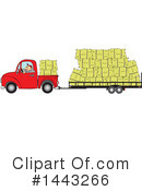 Pickup Truck Clipart #1443266 by djart