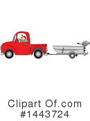 Pickup Truck Clipart #1443724 by djart