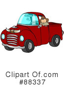 Pickup Truck Clipart #88337 by djart