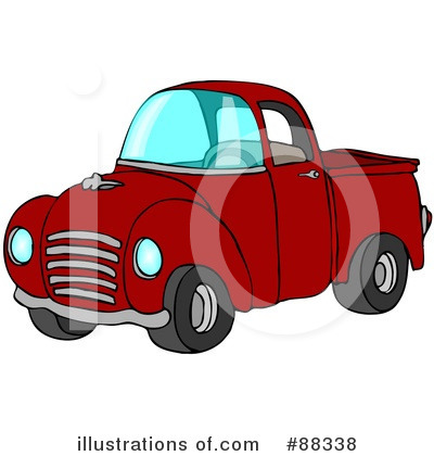 Pickup Clipart #88338 by djart