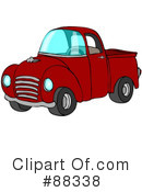 Pickup Truck Clipart #88338 by djart