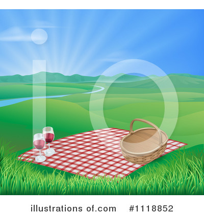 Picnic Clipart #1118852 by AtStockIllustration