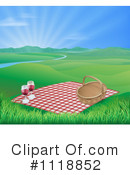 Royalty-Free (RF) Picnic Clipart Illustration #1118852
