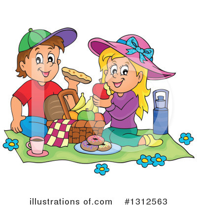 Picnic Clipart #1312563 by visekart