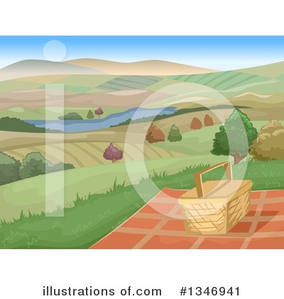 Landscape Clipart #1346941 by BNP Design Studio