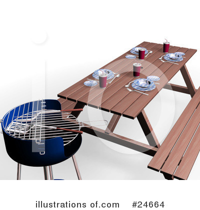 Bbq Clipart #24664 by KJ Pargeter