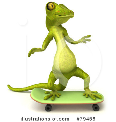 Gecko Clipart #79458 by Julos