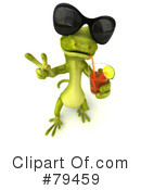 Pico Gecko Character Clipart #79459