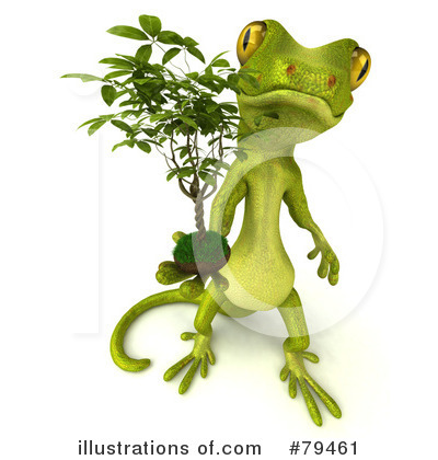 Gecko Clipart #79461 by Julos