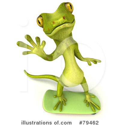 Gecko Clipart #79462 by Julos