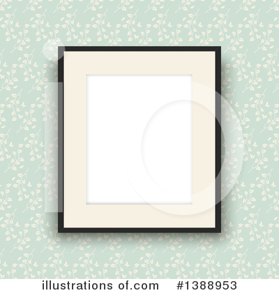 Picture Frame Clipart #1388953 by KJ Pargeter