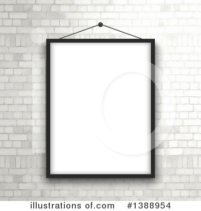 Picture Frame Clipart #1388954 by KJ Pargeter