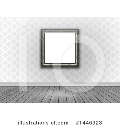 Picture Frame Clipart #1446323 by KJ Pargeter