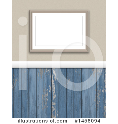 Picture Frame Clipart #1458094 by KJ Pargeter