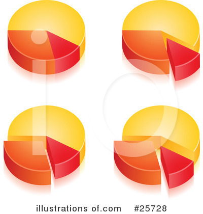 Pie Chart Clipart #25728 by beboy