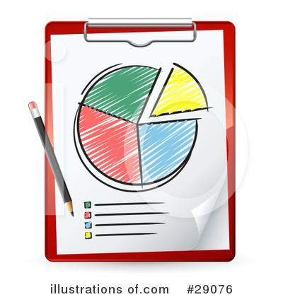 Pie Chart Clipart #29076 by beboy