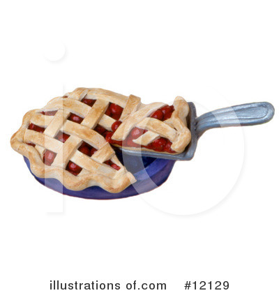 Pie Clipart #12129 by Amy Vangsgard