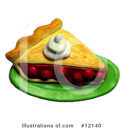 Royalty-Free (RF) Pie Clipart Illustration by Amy Vangsgard - Stock Sample #12140