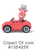Pig Chef Clipart #1354256 by Julos