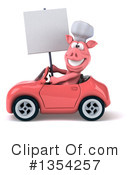 Pig Chef Clipart #1354257 by Julos