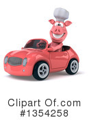 Pig Chef Clipart #1354258 by Julos