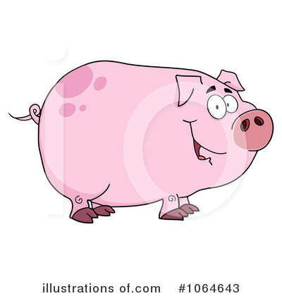 Pig Clipart #1064643 by Hit Toon