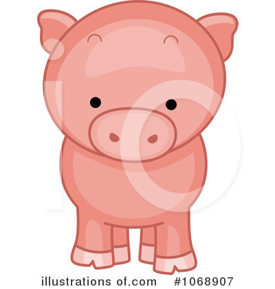 Pig Clipart #1068907 by BNP Design Studio