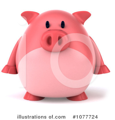 Pig Clipart #1077724 by Julos