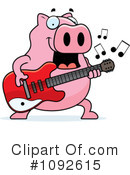 Pig Clipart #1092615 by Cory Thoman