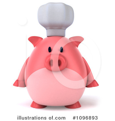 Pig Clipart #1096893 by Julos