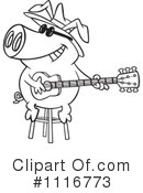 Royalty-Free (RF) pig Clipart Illustration #1116773