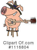 Royalty-Free (RF) pig Clipart Illustration #1116804