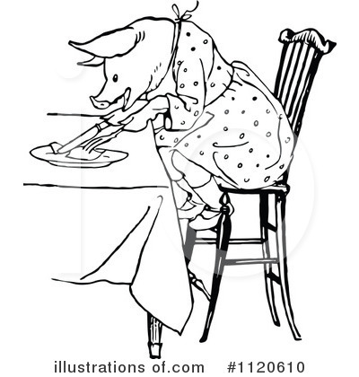 Eating Clipart #1120610 by Prawny Vintage