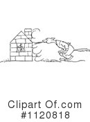 Royalty-Free (RF) Pig Clipart Illustration #1120818