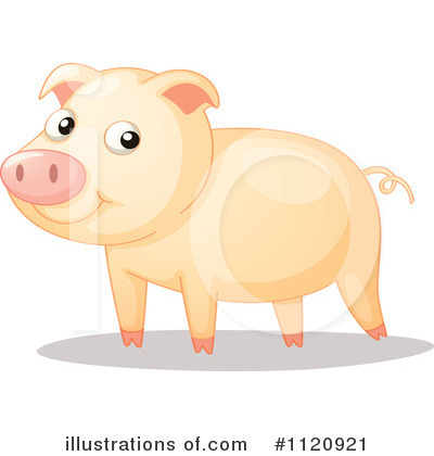 Pig Clipart #1120921 by Graphics RF