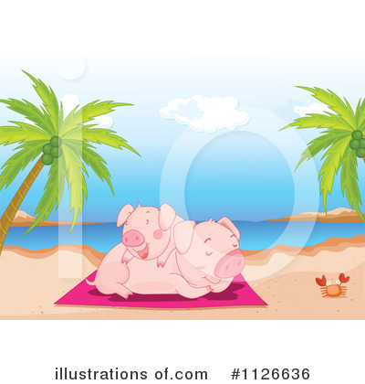 Pig Clipart #1126636 by Graphics RF