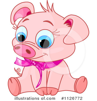 Pig Clipart #1126772 by Pushkin