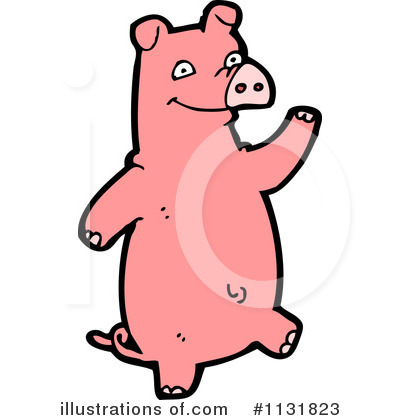 Pig Clipart #1131823 by lineartestpilot