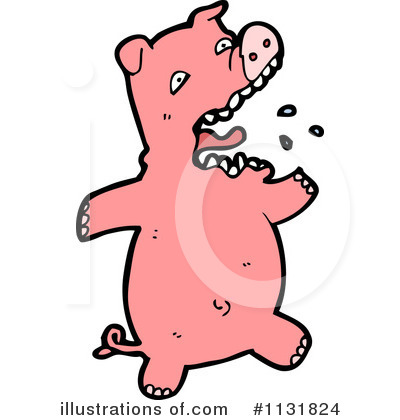 Pig Clipart #1131824 by lineartestpilot