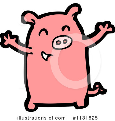 Pig Clipart #1131825 by lineartestpilot