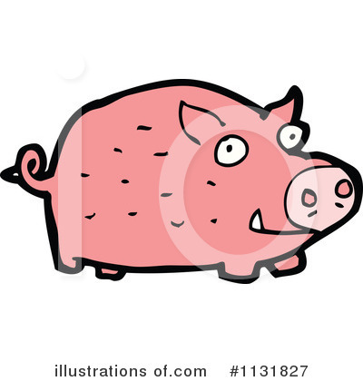 Pig Clipart #1131827 by lineartestpilot
